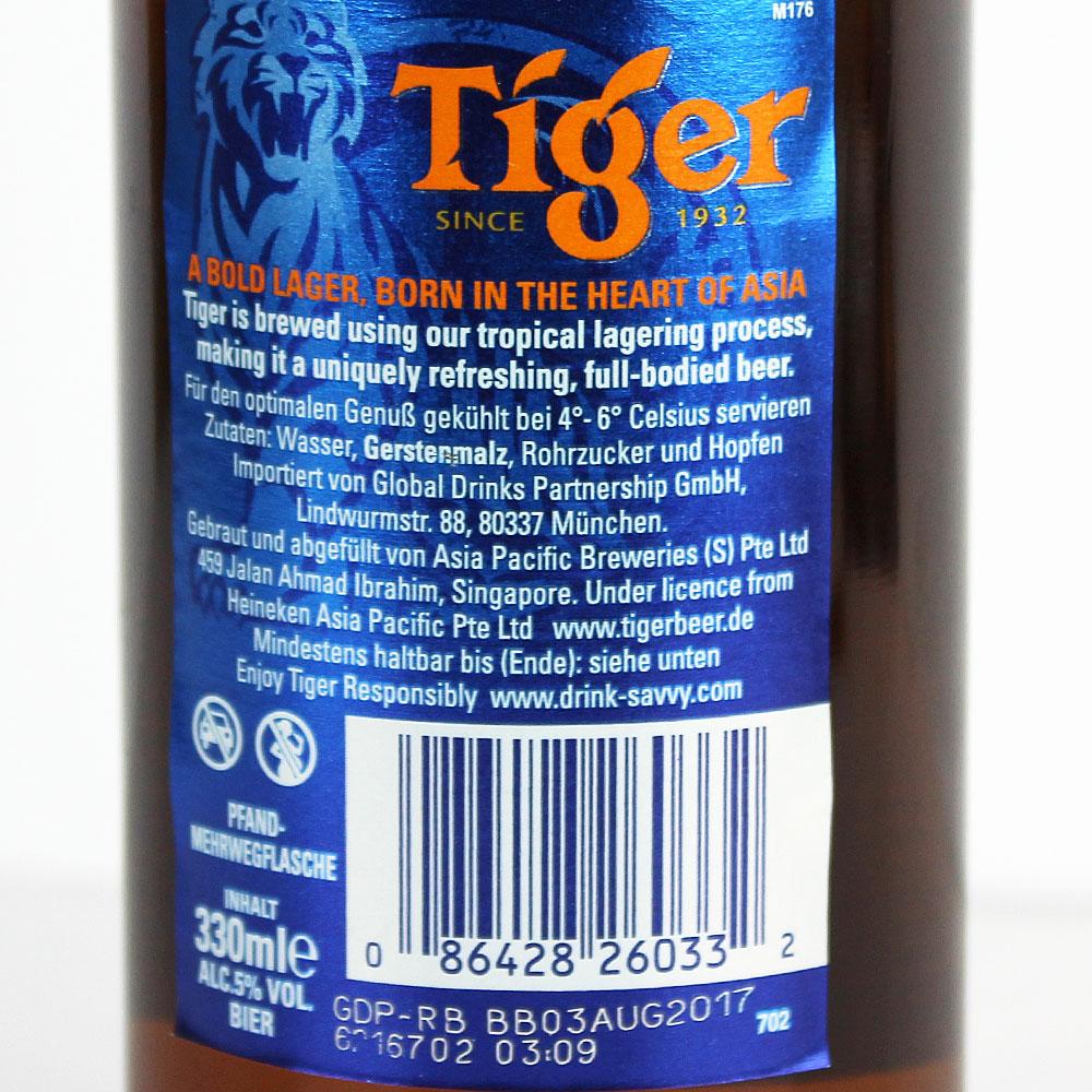 Tiger Bier Kaufen